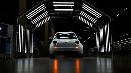 (Symbolbild). Ein e.GO Life Elektroauto, das von der e.GO Mobile AG in Deutschland vollständig entwickelt und produziert wurde.