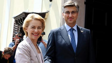 Designierte EU-Kommissionspräsidentin Ursula von der Leyen lobte Kroatien bei ihrem Besuch in Zagreb als