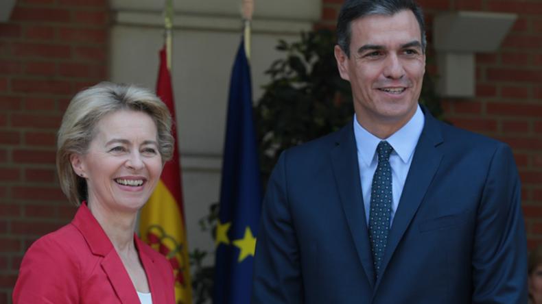 """Von der Leyen auf EU-Tour: """"Fruchtbare Gespräche"""" in Madrid"""