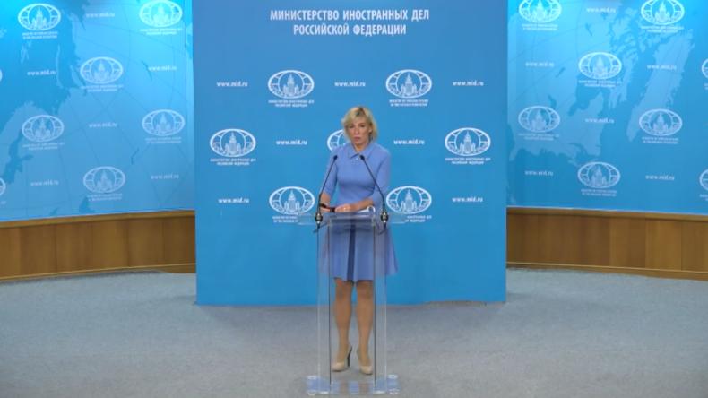 Sacharowa: Moskau spürt, dass die USA einen Vorwand für den Konflikt am Persischen Golf suchen