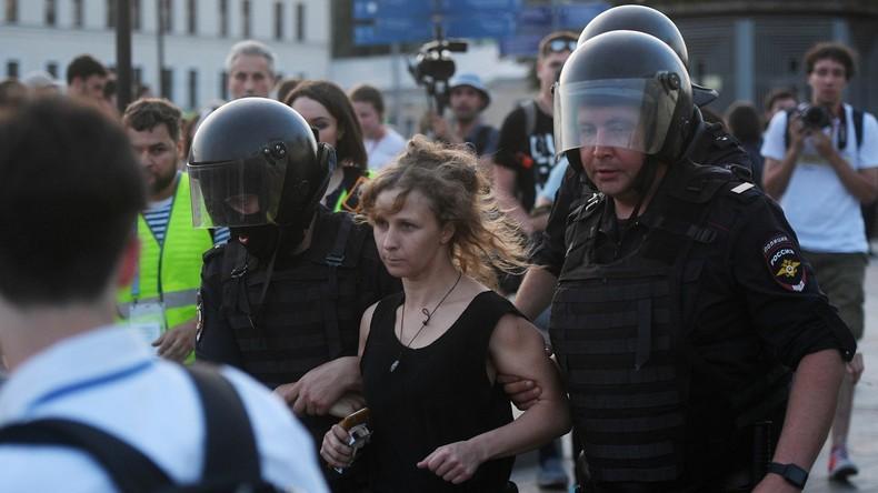 Umfrage: Fast 70 Prozent der Russen für staatliche Bekämpfung unautorisierter Straßenproteste
