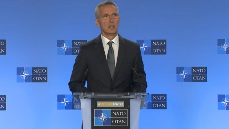 Stoltenberg: NATO unterstützt den Rückzug der USA aus dem INF-Vertrag
