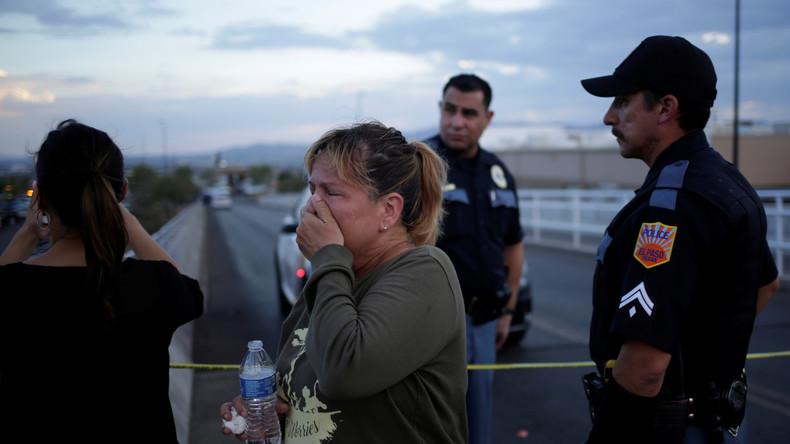 Mutmaßliches Hassverbrechen in Texas: 20 Tote bei Massaker in Einkaufszentrum