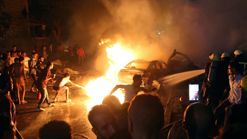 Explosion in der Innenstadt von Kairo: Mindestens 19 Tote