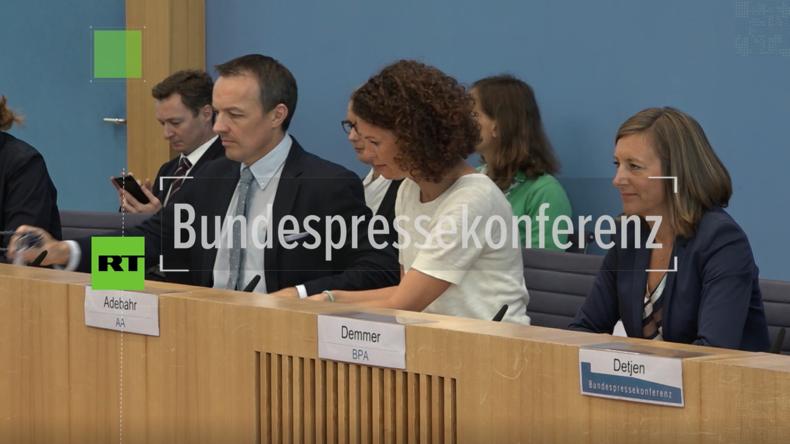 Regierungssprecher können nicht erklären, wieso Moskaus Angebot zur Rettung von INF abgelehnt wurde