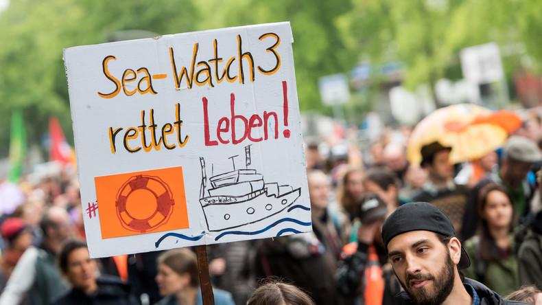 Satire-Aktion: Gegner von Sea-Watch spendeten unwissend an die Rettungsorganisation