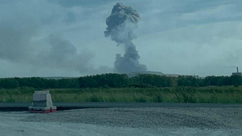 Munitionslager des russischen Militärs in Sibirien explodiert – mindestens vier Verletzte