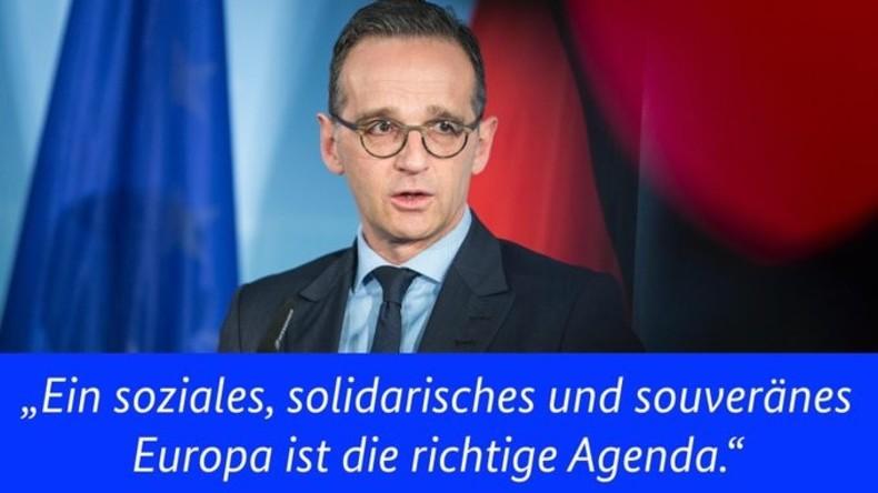 Heiko Maas und das Ende des INF-Vertrags: Nichts als hohle Phrasen