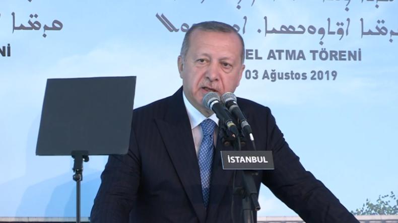 Istanbul: Erdoğan gibt Startschuss für ersten Kirchenbau in der Türkei seit fast 100 Jahren