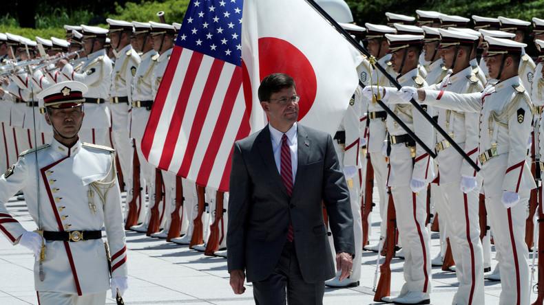 Japan soll auch mitmachen: Pentagon-Chef wirbt in Tokio für US-Mission im Persischen Golf