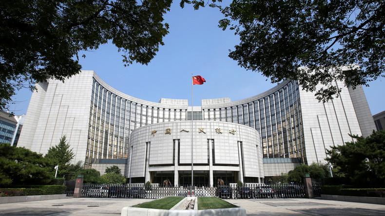 Chinesische Zentralbank: Brandmarkung Chinas als 'Währungsmanipulator' wird Weltwirtschaft schaden