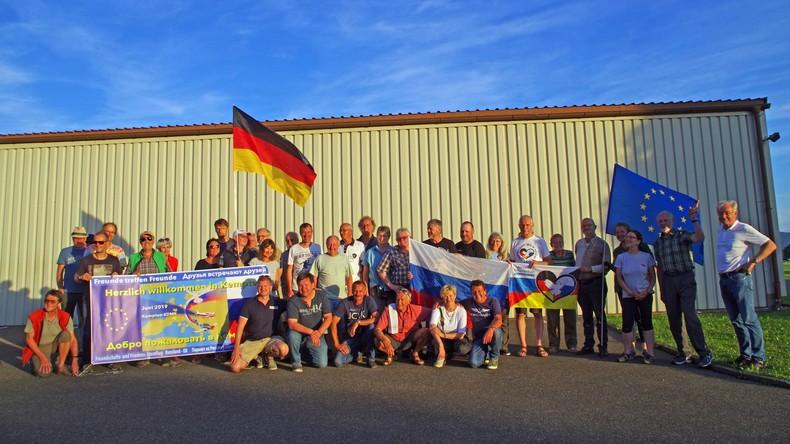 """""""Freunde treffen Freunde"""" - Russische Sportpiloten dürfen zum ersten Mal nach Deutschland fliegen"""