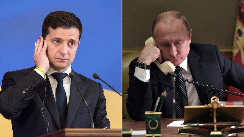 """Telefonat zwischen Selenskij und Putin: """"Auf menschliche Art miteinander umgehen"""""""