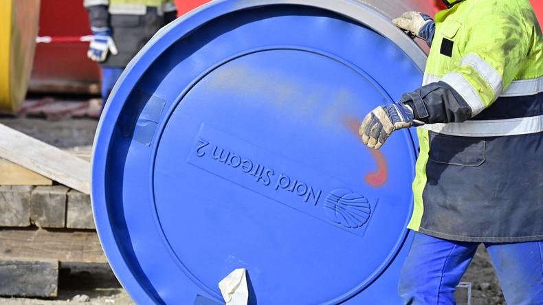 """""""Das Maß ist voll"""": Deutsche Politiker und Wirtschaft warnen vor US-Sanktionen wegen Nord Stream 2"""