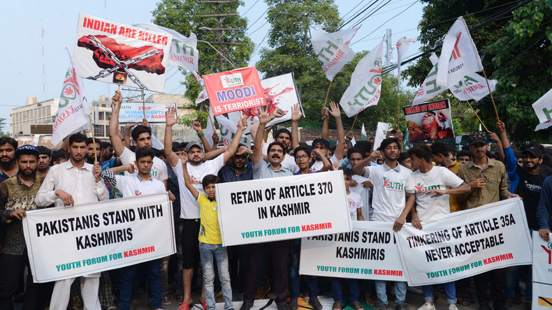 Kaschmir-Konflikt: Pakistan weist indischen Gesandten aus und ruft Botschafter aus Indien zurück
