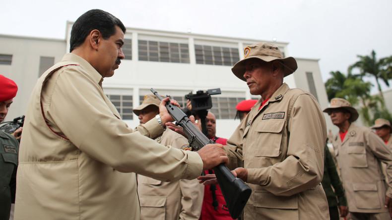 """Venezuela nennt neueste US-Sanktionen """"kriegerischen Akt"""" (Video)"""