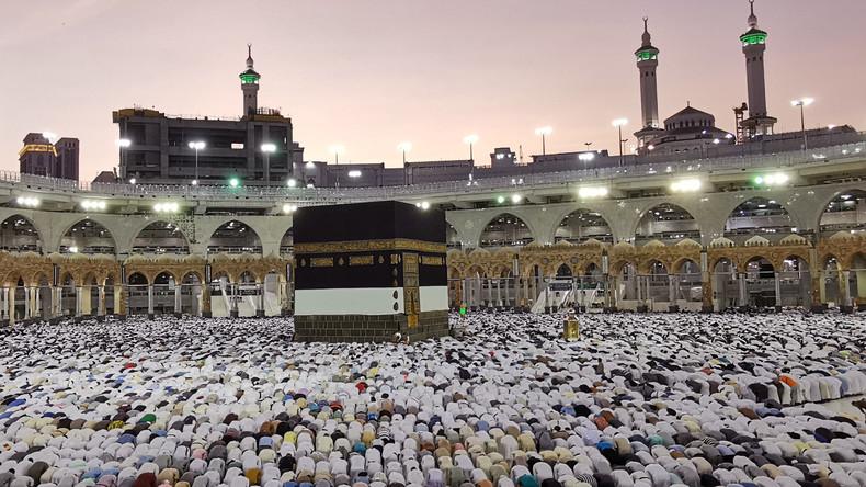 Inmitten regionaler Spannungen: Über 2 Millionen Menschen begeben sich auf Pilgerreise nach Mekka