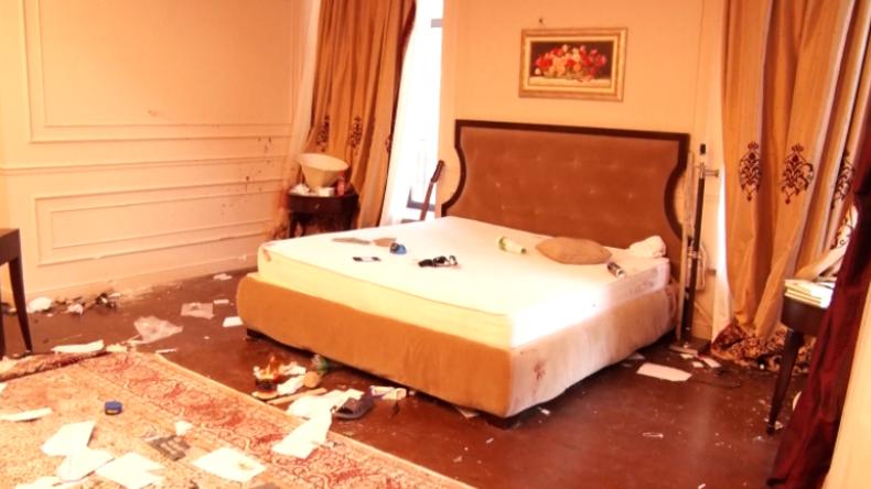 Kirgistan: Völlig verwüstet – Video zeigt Villa des Ex-Präsidenten Atambajew nach Razzia