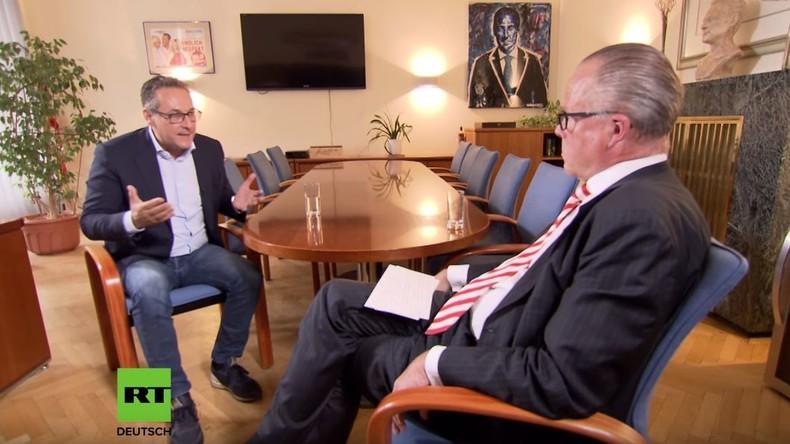 """Exklusiv-Interview mit Ex-Vizekanzler HC Strache: """"Die FPÖ war für die EU ein Dorn im Auge"""""""