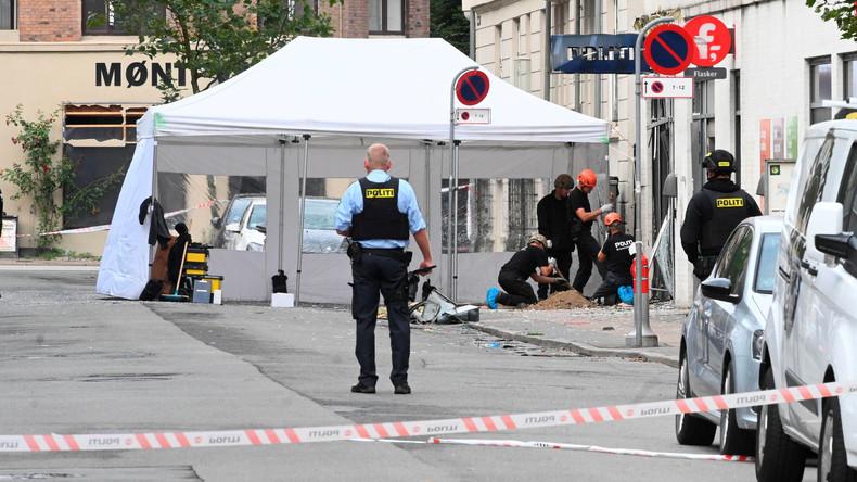 Explosion beschädigt Polizeiwache in Kopenhagen
