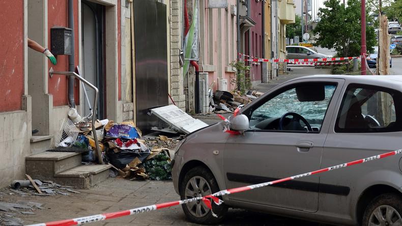 Nach Tornado in Luxemburg: Bis zu 100 Häuser unbewohnbar