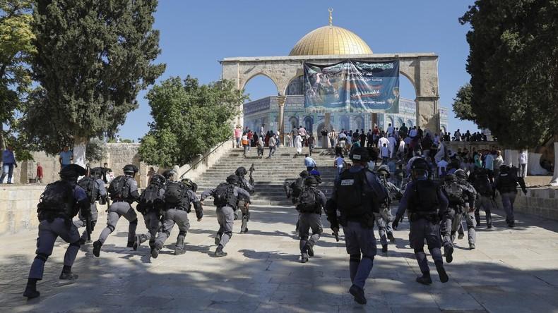 Israel: Unruhen auf Tempelberg, Soldaten töten bewaffnete Palästinenser an Gaza-Grenze