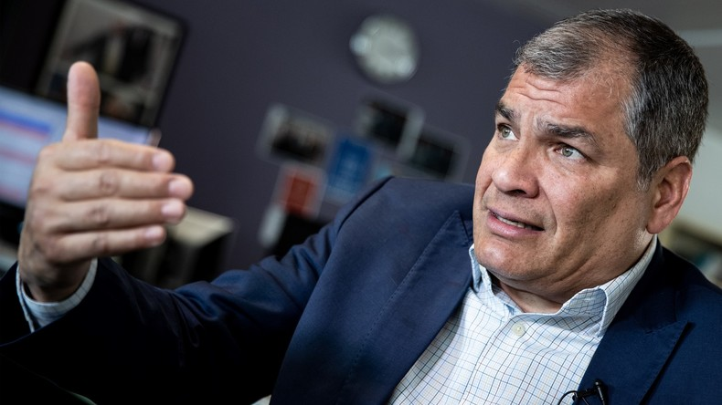 Ecuador erlässt Haftbefehl gegen ehemaligen Präsidenten Rafael Correa