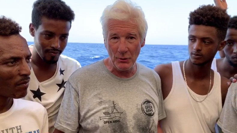 """Nimm die Migranten mit nach Hollywood"": Salvini verspottet Richard Gere"