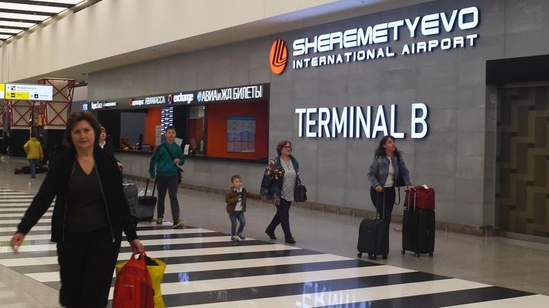 Moskauer Scheremetjewo-Flughafen als bester der Welt ausgezeichnet