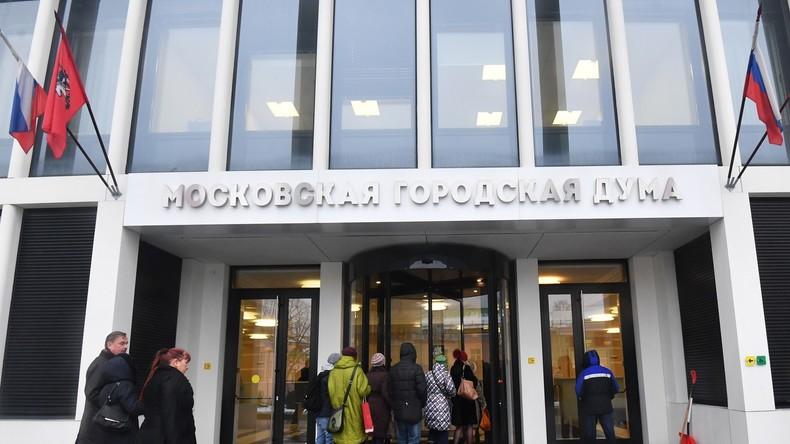 Nach Protesten: Vorsitzender der Moskauer Stadtduma schließt Verlegung der Wahl aus