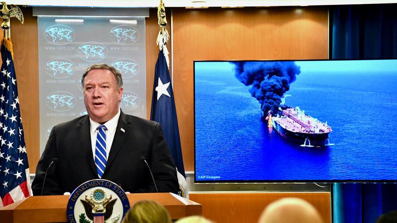 Pompeo vor der UN: Iran sollte getroffen werden, noch während er wirtschaftlich am Boden liegt