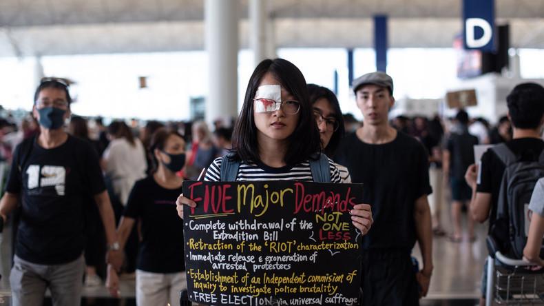 Reintegration von Hongkong noch nicht abgeschlossen