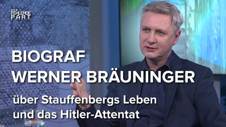 """""""Stauffenberg wäre erschrocken, was aus Deutschland geworden ist."""" – Biograf Werner Bräuninger"""
