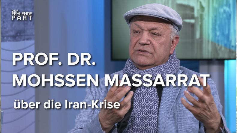 """""""Die Gefahr geht von den USA aus!"""" - Iran-Experte Prof. Mohssen Massarrat"""
