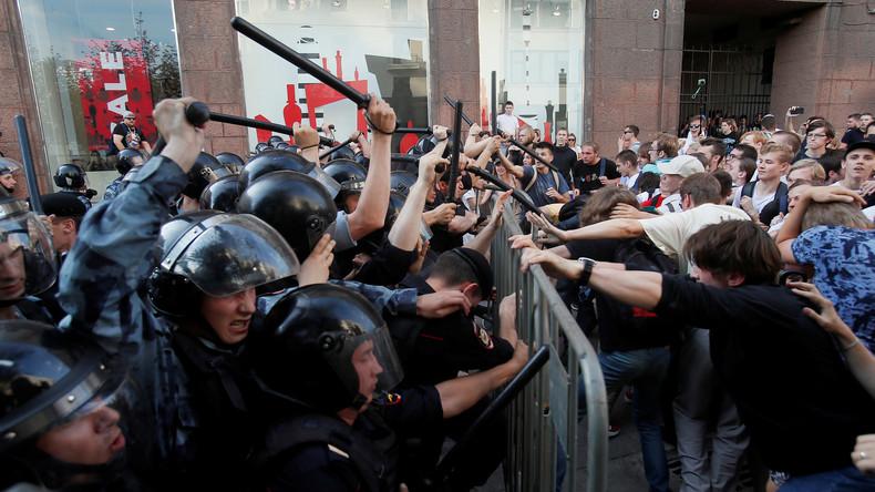 """Herrscht in Moskau ein Bürgerkrieg? Eine Straßenumfrage im """"Kriegsgebiet"""""""