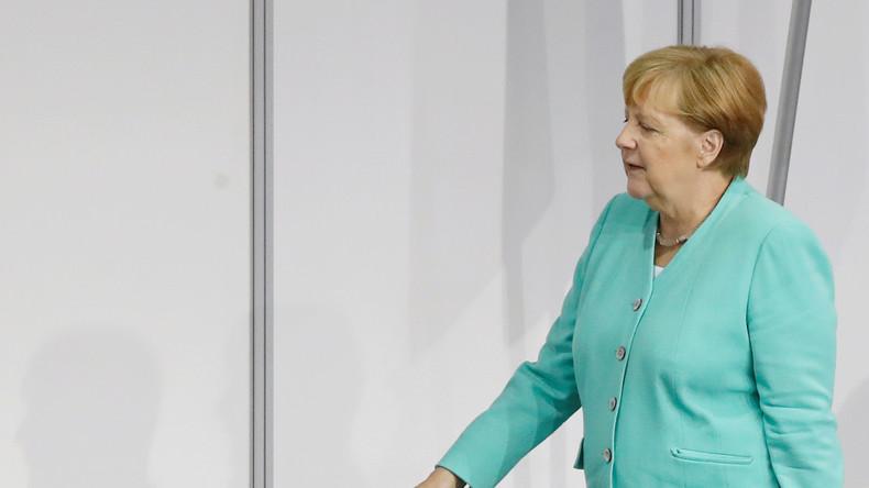 LIVE: Angela Merkel bei Leserforum der Ostsee-Zeitung in Stralsund