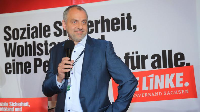 Sächsischer Linken-Kandidat Gebhardt: Wir wollen nach der Wahl mitgestalten (Video)