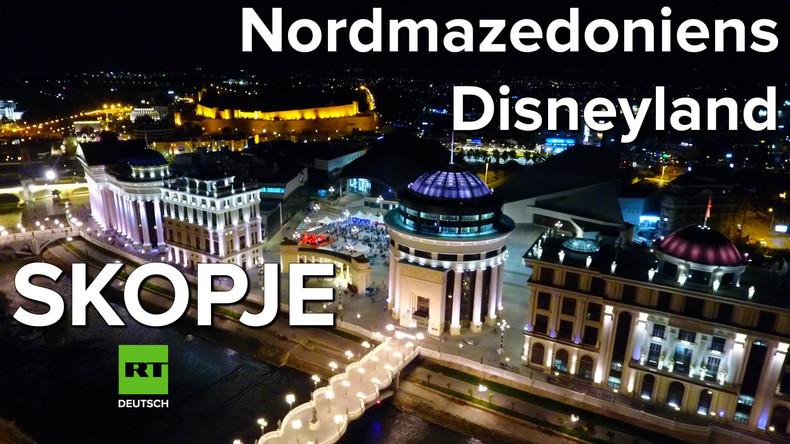 Skopje - Nordmazedoniens Disneyland
