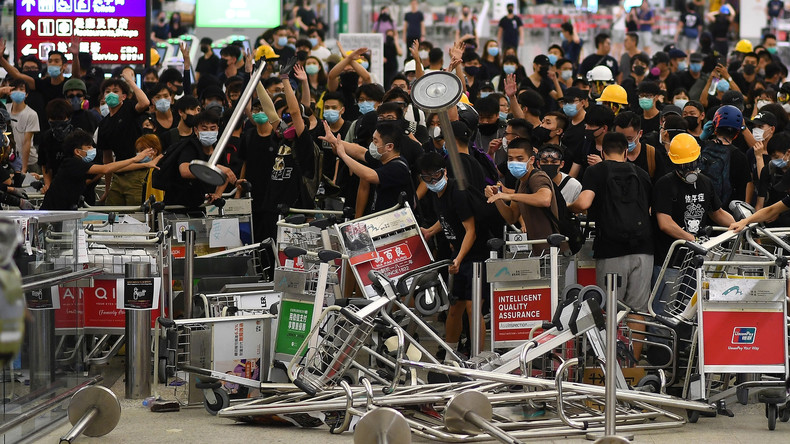 USA als Drahtzieher hinter den Protesten in Hongkong? (Video)