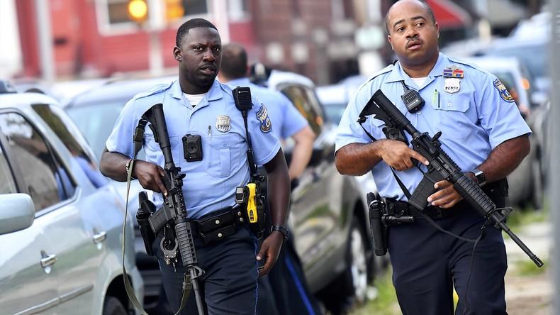 Schüsse auf Polizisten in Philadelphia – Bewaffneter gibt nach stundenlangen Verhandlungen auf