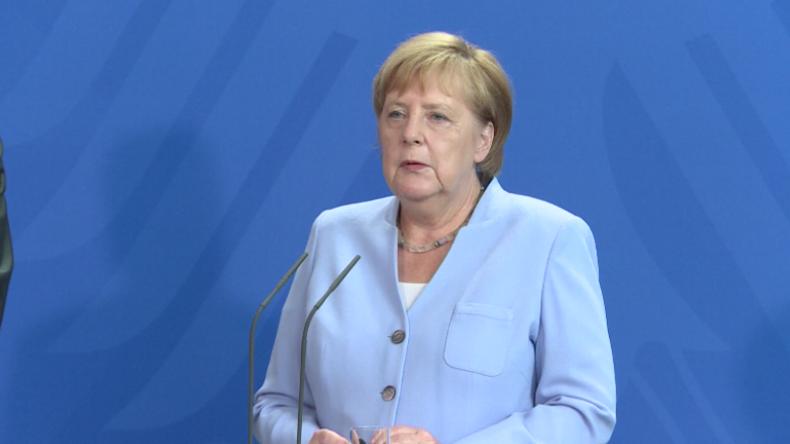 """Merkel: """"Sie sind willkommen"""" – USA haben """"gute Gründe"""" für Truppenstationierung in Deutschland"""