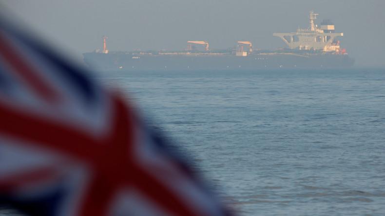 USA wollen Herausgabe des in Gibraltar festgesetzten Tankers blockieren