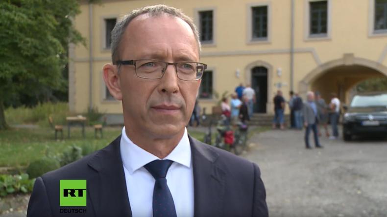 Sächsischer AfD-Spitzenkandidat Jörg Urban: Wir wollen stärkste Kraft werden