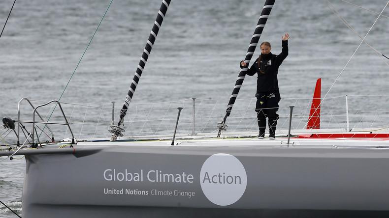 Nicht nur mit der Kraft des Windes: Gretas Segelausflug verursacht sechs Atlantikflüge
