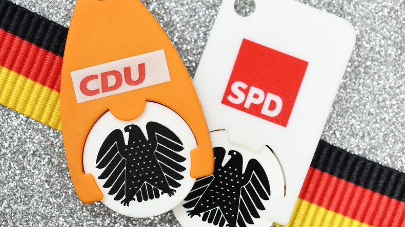 """Twitter-Streit der GroKo-Parteien: """"Schrecklich nette Familie"""" gegen """"halbstarken Paul"""""""