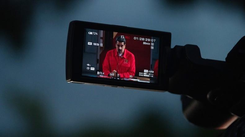 Venezuela: Regierungskritischer Star-Journalist ist ausländischer Agent (Video)