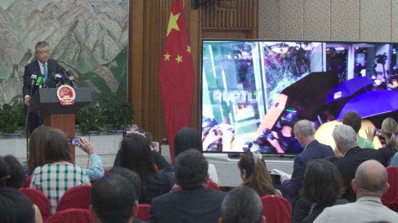Chinesischer Botschafter in England: Ich zeige Ihnen nun etwas, das man im Westen nicht gern zeigt