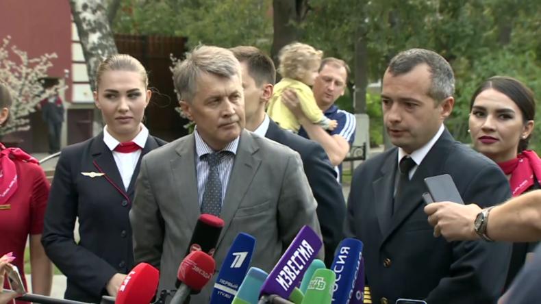 Russland: PilotbeschreibtNotlandung nach Triebwerksausfall