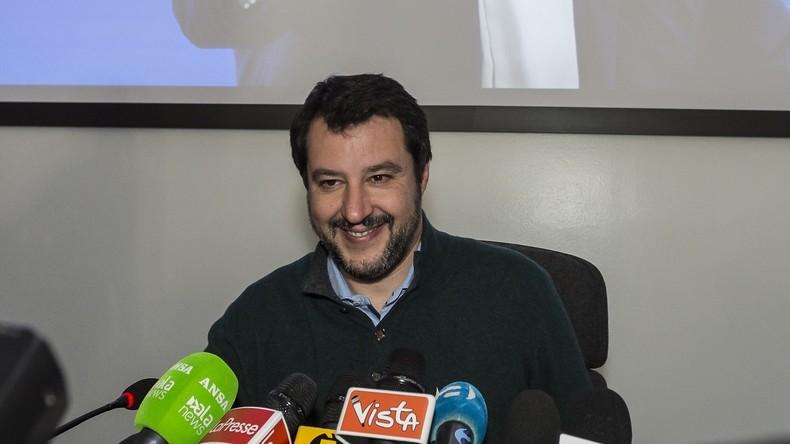 """Italien: Salvinikontertden Premierminister und bekennt sich """"schuldig"""""""