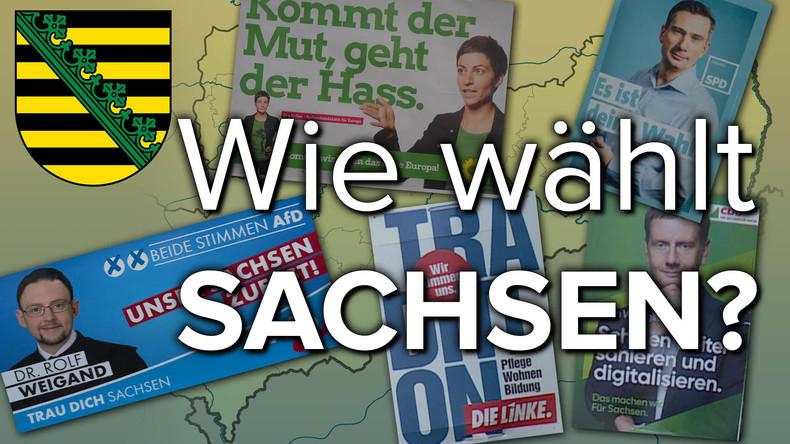 RT-Reportage: Wie wählt Sachsen?